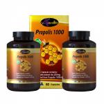 Propolis 1000 Auswelllife Premium (พรอพเพอริส) 60 เม็ด 2 กระปุก