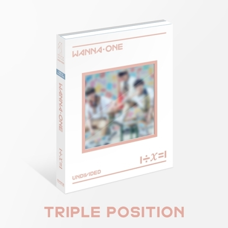 WANNA ONE - Special Album [1÷χ=1 (UNDIVIDED)] หน้าปก Triple Position Ver