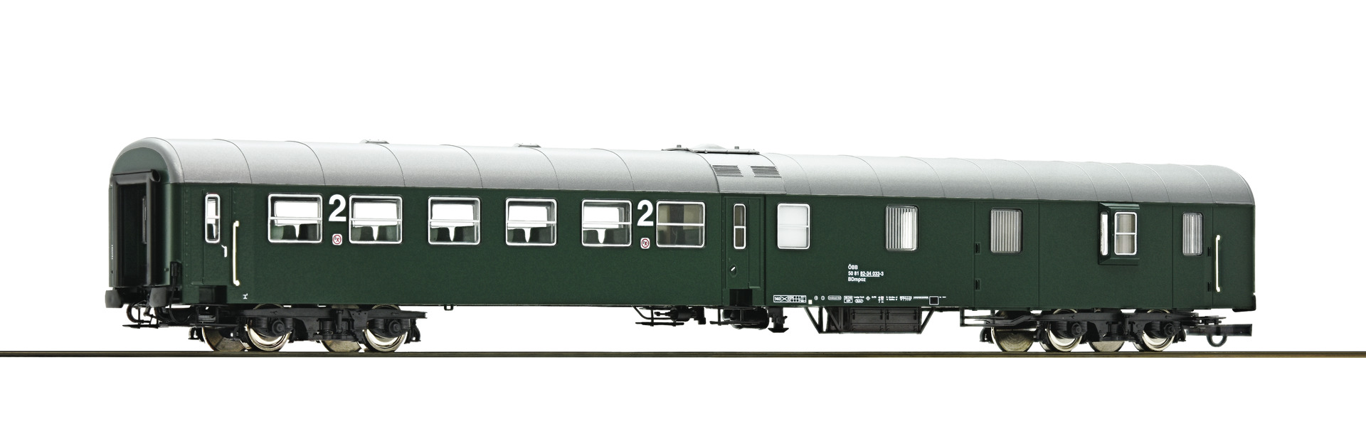 Roco64670 OBB class2+baggage