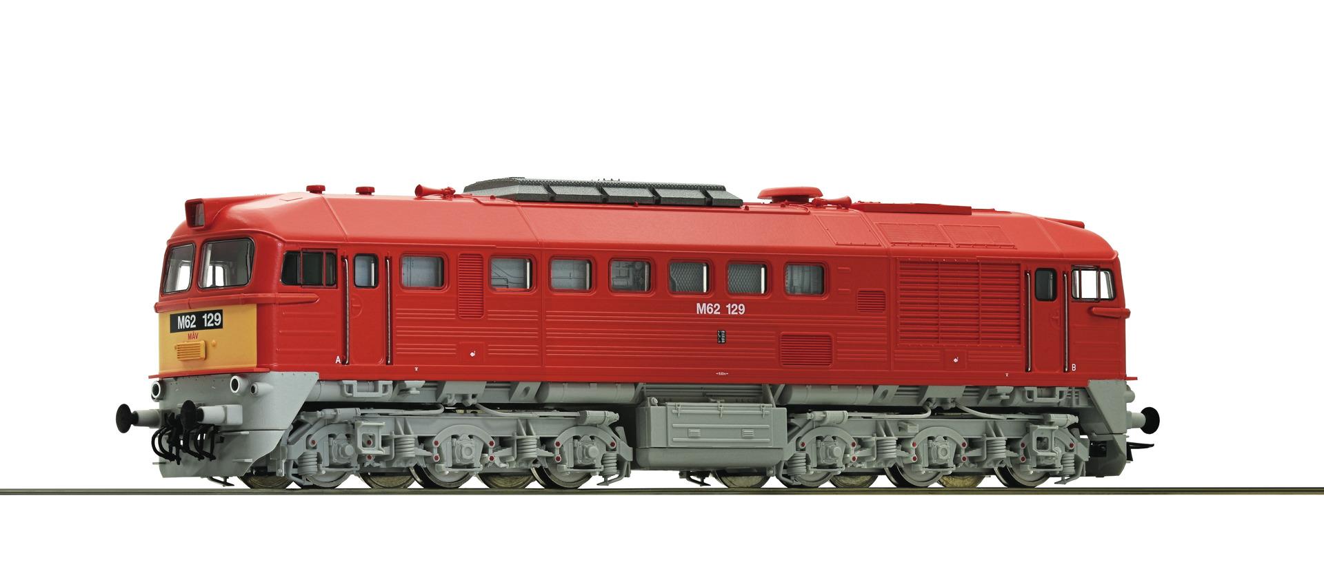Roco73699 diesel M62 MAV, dcc sound
