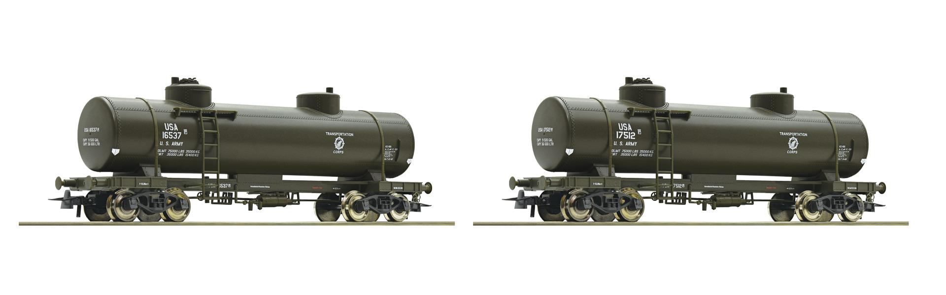 Roco67117 USTA tankcar 2 car set