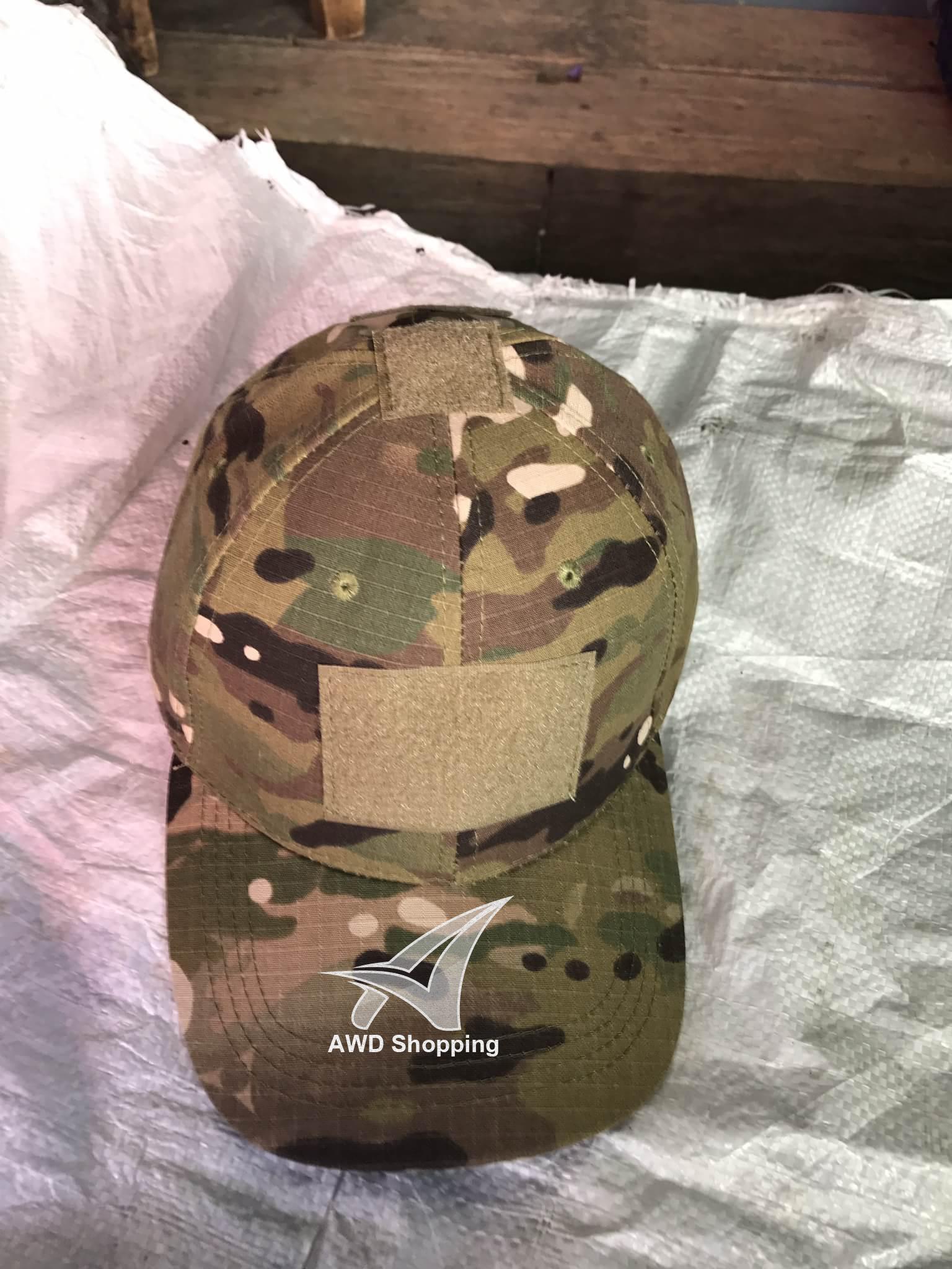 หมวก ลายทหาร