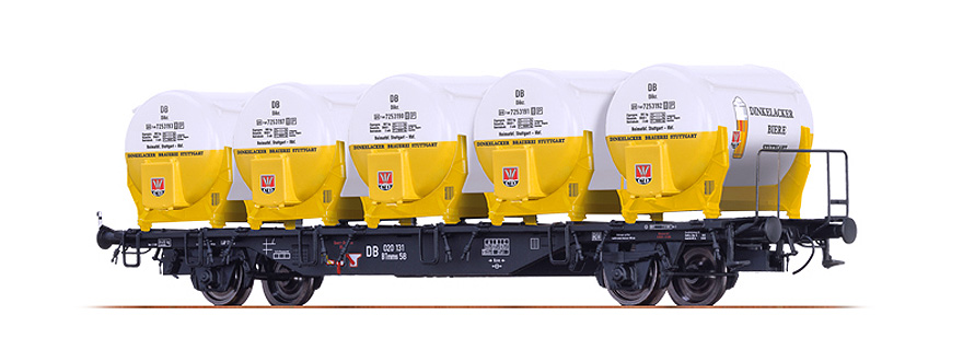Brawa49115 beer container wagon