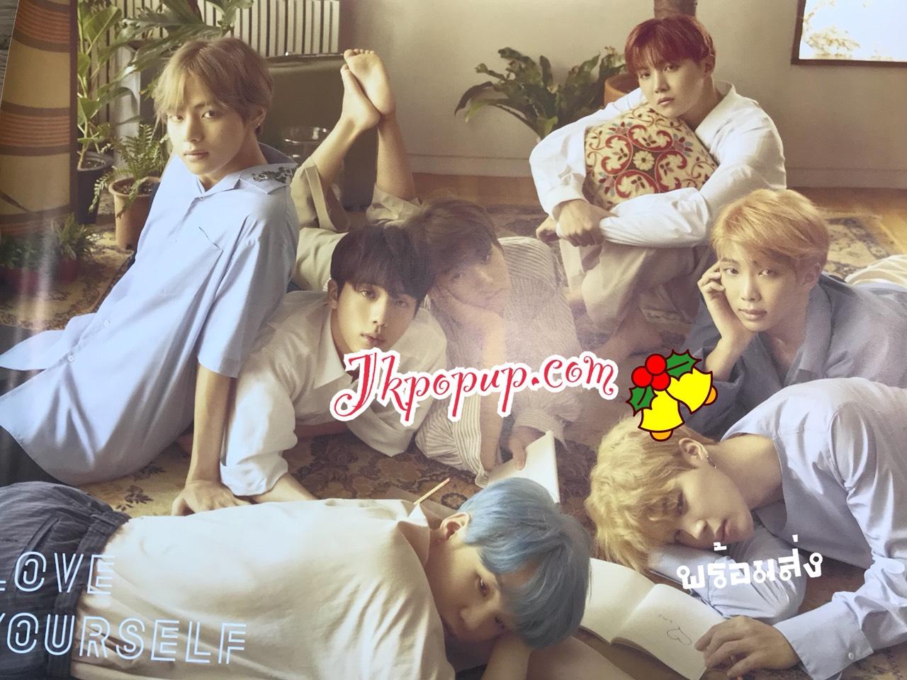 BTS - Mini Album Vol.5 [LOVE YOURSELF 承 Her] โปสเตอร์ แบบที่ 1 พร้อมกระบอกโปสเตอร์ พร้อมส่ง