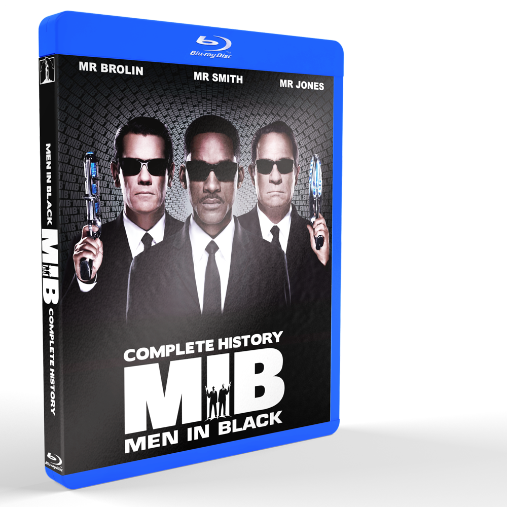 *U1201 - Men In Black Trilogy (2012) [3 DISCS]