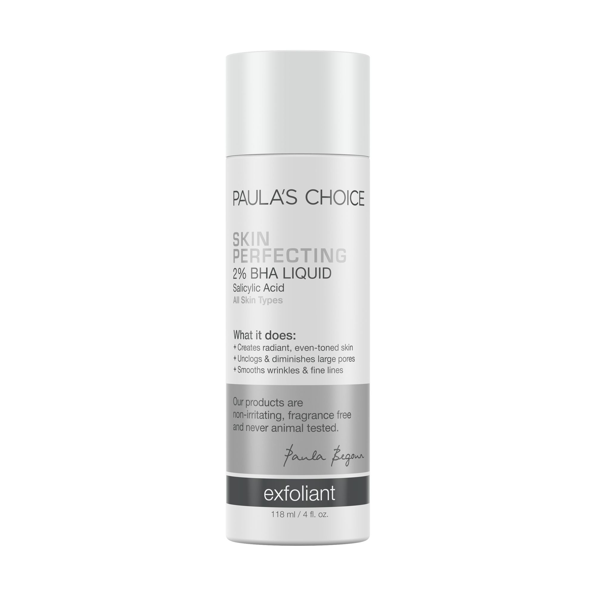 [ลด 20%] Paula's Choice : Skin Perfecting 2% BHA Liquid Exfoliant 118ml