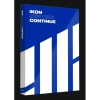 iKON - Mini Album [NEW KIDS : CONTINUE] ปก BLUE Ver. + โปสเตอร์ พร้อมกระบอกโปสเตอร์