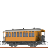 Brawa45633 Personal wagon 3 car set
