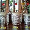 หม้อหูหิ้วลายไทยตราผึ้ง