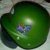 หมวกกันน็อคเด็ก รุ่นนาซี สีเขียว: Green Nazi Models