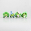 [Pre-Order] น้องกบเดินทางและผองเพื่อน 1เซ็ทมี4ตัว Tabi Kaeru Travel Frog Action Figures