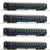 Roco64187 DB touropa set 4 car