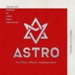 ASTRO 3RD MINI ALBUM -AUTUMN STORY หน้าปก A ver ปกสีแดง