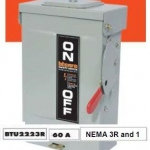 SAFETY SWITCH OUTDOOR 60A 2P NON FUSE