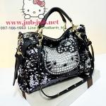 On the way--Hello kitty กระเป๋าคิตตี้ปักเลื่อม สวยมากค่ะ นำเข้าจากต่างประเทศ