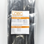 LOBO CABLE TIES ยาว 10 นิ้ว 4.8 X 250 MM สีดำ