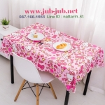 PRE-ORDER---Hello kitty ผ้าปูโต๊ะคิตตี้ ขนาด 114*137 cm ลายที่ 1