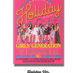 Girls' Generation : 6th Album - Holiday Night หน้าปก Holiday ver