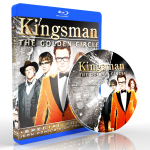 W1703 - Kingsman (The Golden Circle) (2017) [แผ่นสกรีน]