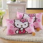 PRE-ORDER---Hello kitty ปลอกหมอนคิตตี้ ผ้านุ่มมาก ราคาต่อ 1 ชิ้น สินค้านำเข้า (มีหลายลายให้เลือกค่ะ)