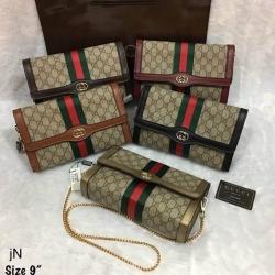 กระเป๋าแฟชั่น Gucci Size 9