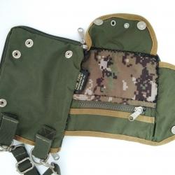 กระเป๋ามือสอง สะพายข้าง FIRE FIRST ลายทหาร