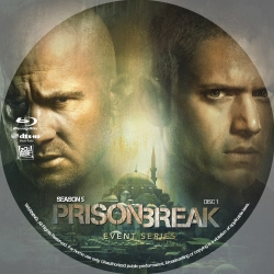 US1702 - Prison Break SEASON 5 (2017) (1 DISC) (THAI SUB) [แผ่นสกรีน]