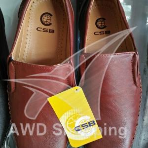 รองเท้าหนัง CSB / ผู้ชาย / สีดำ / สีน้ำตาล / สีน้ำตาลแดง / สีน้ำตาลครีม