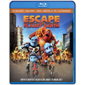 U13224 - Escape from Planet Earth (2013) แผ่นสกรีน