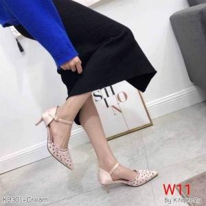 รองเท้าแฟชั่น by Kitepretty สีดำ / สีเทา / สีครีม