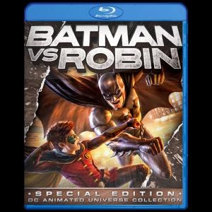 U15208 - Batman vs. Robin (2015) แผ่นสกรีน