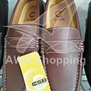 รองเท้าหนัง CSB (เย็บขอบข้าง)/ ผู้ชาย / สีดำ / สีน้ำตาล / สีน้ำตาลแดง
