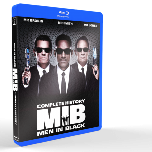 *U1201 - Men In Black Trilogy (2012) [3 DISCS]