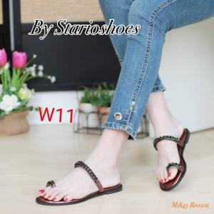 รองเท้าแฟชั่น Starioshoes สีดำ / สีทอง / สีน้ำตาล / สีเทา