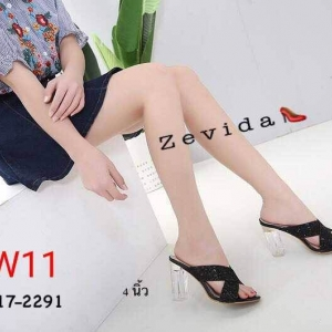 รองเท้าแฟชั่น Zevida ส้นสูง 4 นิ้ว