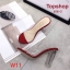 รองเท้าแฟชั่นส้นสูง สีดำ / สีแดง / สีขาว / สีน้ำตาล ตลาดโรงเกลือ thumbnail 3