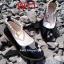 รองเท้าแฟชั่น (เด็กผู้หญิง) สีดำ / สีขาว / สีชมพู thumbnail 3