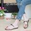 รองเท้าแฟชั่น Starioshoes สีดำ / สีทอง / สีน้ำตาล / สีเทา thumbnail 3
