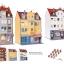 Kibri38998 set of 3 townhouse