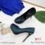 รองเท้าแฟชั่น ส้นสูง By Kitepretty สีเขียว / สีครีม / สีน้ำเงิน thumbnail 3