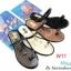 รองเท้าแฟชั่น Starioshoes สีดำ / สีทอง / สีน้ำตาล / สีเทา thumbnail 4