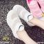รองเท้าแฟชั่น หุ้มส้น by Kitepretty สีขาว / สีดำ / สีชมพู thumbnail 4
