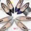 รองเท้าแฟชั่น ส้นเตี้ย by Kitepretty สีน้ำเงิน / สีเทา /สีดำ / สีครีม thumbnail 1
