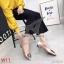 รองเท้าแฟชั่น Kitepretty (K9313) สีดำ/สีน้ำเงิน/สีชมพู/สีเขียว thumbnail 6