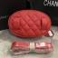 กระเป๋าแฟชั่น Chanel Belt Bag สีแดง thumbnail 5