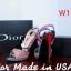รองเท้าแฟชั่น Dior Made in USA thumbnail 3