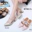 รองเท้าแฟชั่น ZARA สีดำ / สีทอง / สีชมพู thumbnail 7