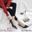 รองเท้าแฟชั่น ส้นเตี้ย by Kitepretty สีน้ำเงิน / สีเทา /สีดำ / สีครีม thumbnail 2