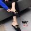 รองเท้าแฟชั่นผู้หญิง พื้นเลียบ หัวแหลม สีน้ำตาล / สีเทา / สีดำ / สีน้ำเงิน thumbnail 7