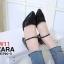 รองเท้าแฟชั่น ZARA สีดำ / สีทอง / สีชมพู thumbnail 6